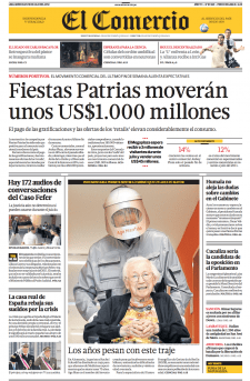 El Comercio - Age Man Alterssimulationsanzug