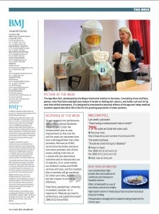 British Medical Journal - Age Man Suit - Picture of the Week