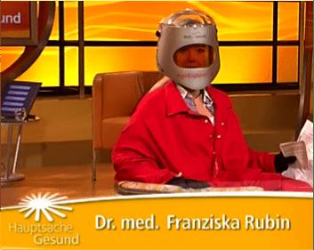 Franziska Rubin Alterssimulationsanzug Ageexplorer