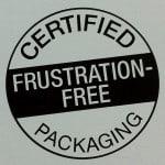 Frustfreie Verpackung ist eine Initiative von Amazon. Statt aufwändiger Verpackungen werden wiederverwertbare Kartons verwendet, die einfach zu öffnen sind und keine überflüssigen Materialien enthalten.