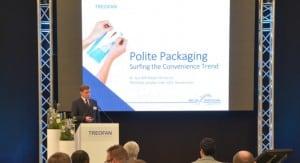 Dr. Gundolf Meyer-Hentschel beim Event u201eFuture Solutionsu201c von Treofan Deutschland